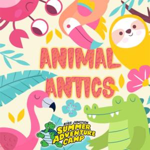 Week 3: Animal Antics