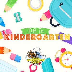 Week 11: Off to Kindergarten