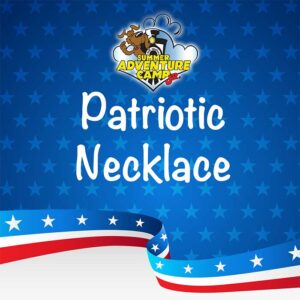 Craft: Patriotic Necklace