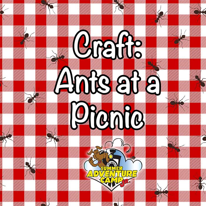 Craft: Ants at a Picnic