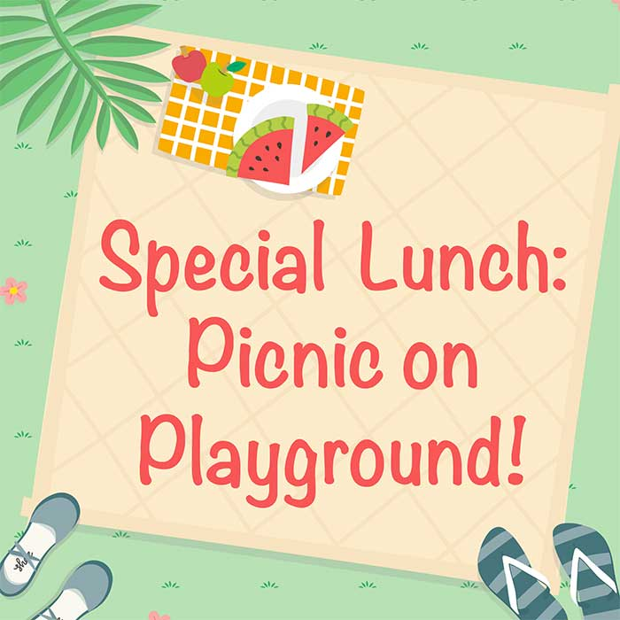 Special Lunch: Picnic on Playground