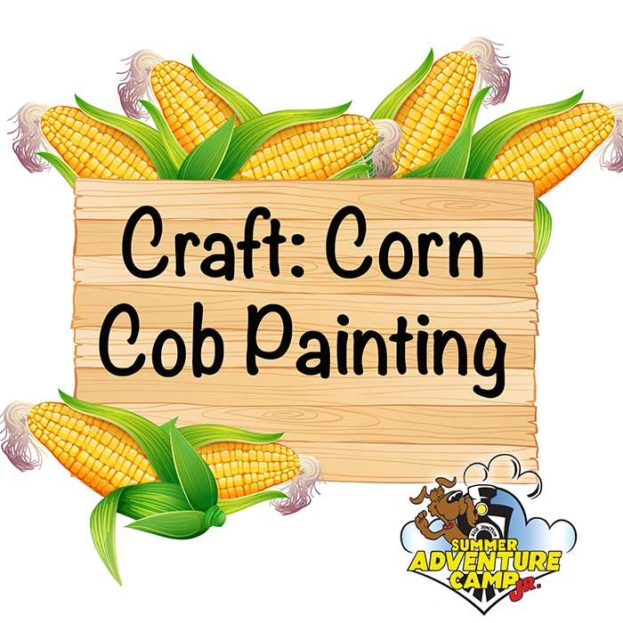 Craft: Corn Cob Painting