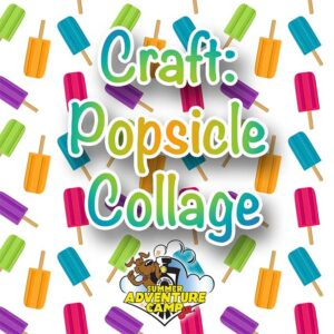 Craft: Popsicle Collage
