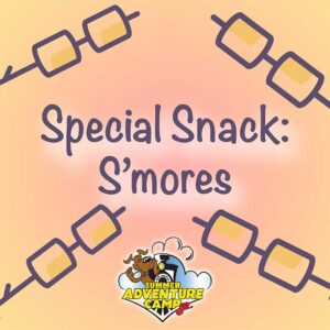 Special Snack: S'mores