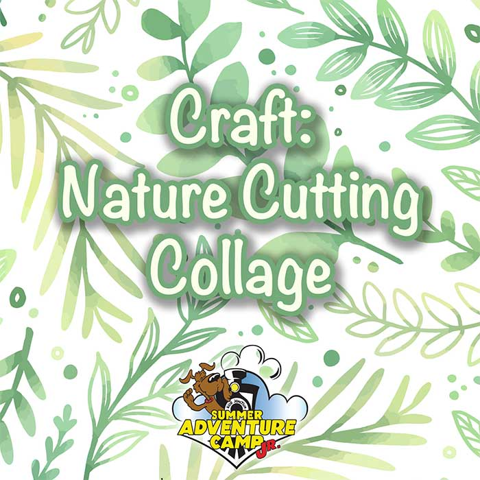 Craft: Nature Cutting Collage