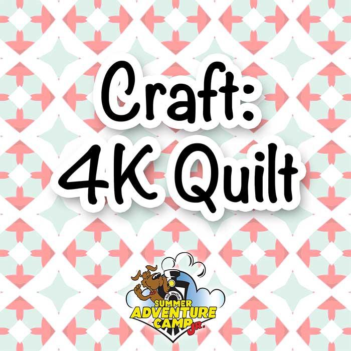 Craft: 4K Quilt