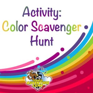 Activity: Color Scavenger Hunt