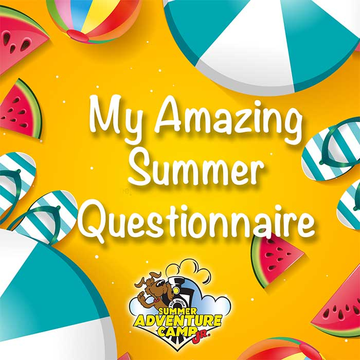 My Amazing Summer Questionnaire
