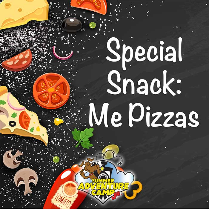 Special Snack: Me Pizzas