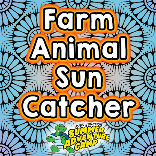 Farm Animal Sun Catcher