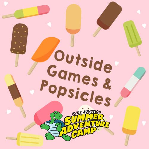 Outdoor Games and Popsicles