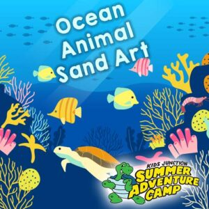 Ocean Animal Sand Art Pictures