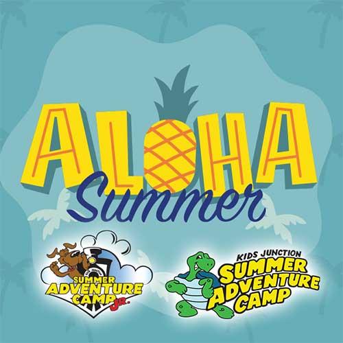 First week of camp! Weekly Theme: Aloha Summer!