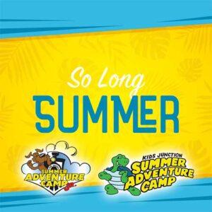 Weekly Theme: So Long Summer